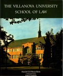 The Villanova University School of Law (A History)