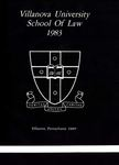 Villanova University School of Law Yearbook - 1983