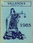 Villanova University School of Law Yearbook - 1985