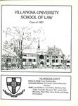 Villanova University School of Law Yearbook - 1987