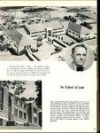 Villanova University Belle Air Yearbook - Law School Excerpt - 1956 by Class of 1956