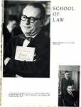 Villanova University Belle Air Yearbook - Law School Excerpt - 1964