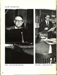 Villanova University Belle Air Yearbook - Law School Excerpt - 1968
