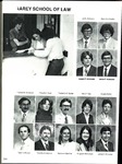 Villanova University Belle Air Yearbook - Law School Excerpt - 1981